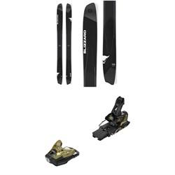 Blizzard Spur Skis + Salomon STH2 WTR 16 Ski Bindings 2019