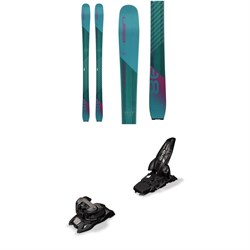 Elan Ripstick 86 Skis - Women's  + Marker Griffon 13 ID Ski Bindings 2019