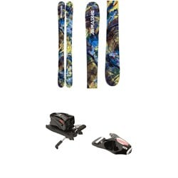 Armada Bantam Skis - Boys' ​+ Look NX Jr 7 Ski Bindings - Big Boys' 2018
