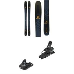 Salomon QST 99 Skis + STH2 WTR 13 Ski Bindings 2019