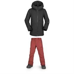 Volcom Holbeck Jacket - Boys' + Volcom Cargo Pants - Boys'