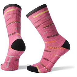 Smartwool Hike Light Canoe Print Crew Socks - Women's