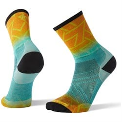 Smartwool PhD® Run Ultra Light Print Crew Socks