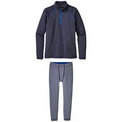 Patagonia Capliene Heavyweight Zip-Neck Top - Big Boys' ​+ Patagonia Capilene Pants - Big Boys'