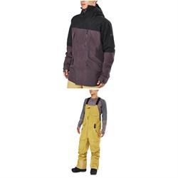 Dakine Sawtooth 3L GORE-TEX Jacket + Stoker 3L GORE-TEX Bibs