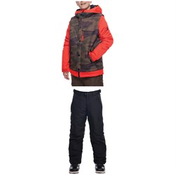 686 Scout Jacket + 686 Infinity Cargo Pants - Boys'