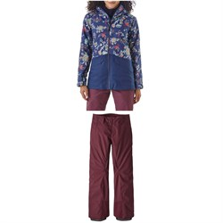 Patagonia Insulated Snowbelle Jacket +Snowbelle Stretch Pants - Women's