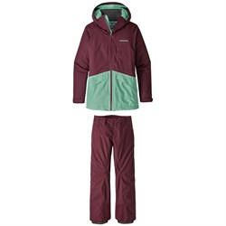 Patagonia Insulated Snowbelle Jacket ​+Snowbelle Stretch Pants - Women's
