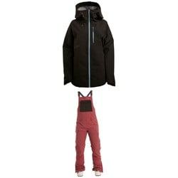 Flylow Puma Jacket + Flylow Sphinx Bibs - Women's