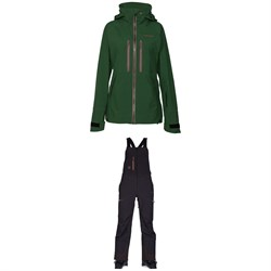 Armada Resolution GORE-TEX 3L Jacket ​+ Armada Highline GORE-TEX 3L Bibs - Women's