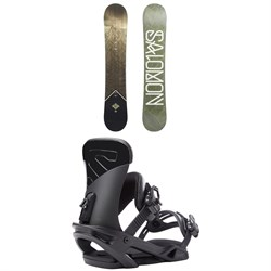 Salomon Sight X Snowboard ​+ Salomon Trigger X Snowboard Bindings 2019
