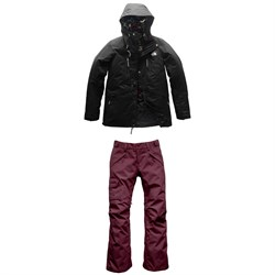 The North Face Superlu Jacket + Freedom Insulated Pants - Women's
