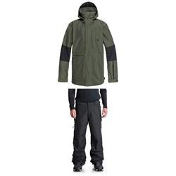 DC Command Jacket + Nomad Pants