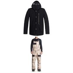 DC Outlier Jacket + Platoon Bibs