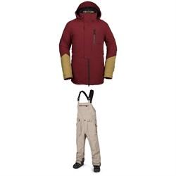 Volcom BL Stretch GORE-TEX Jacket + Rain GORE-TEX Bib Overalls