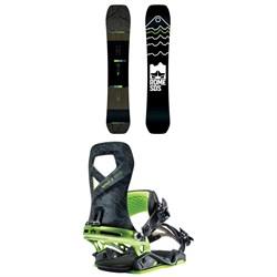 Rome Ravine Snowboard + Rome Vice Snowboard Bindings 2019