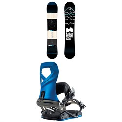 Rome Mountain Division Snowboard + Rome Vice Snowboard Bindings 2019