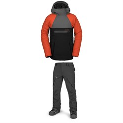 Volcom Brighton Pullover Jacket + Articulated Pants