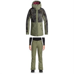 Roxy Tribe Jacket - Women's ​+ Roxy Cabin Pants - Women's