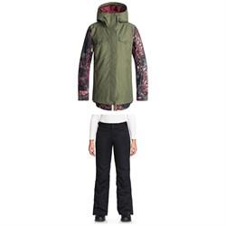 Roxy Ceder Jacket + Roxy Backyard Pants - Women's