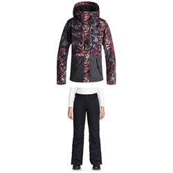 Roxy Jetty Block Jacket ​+ Roxy Backyard Pants - Women's