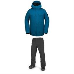 Volcom VCO Inferno Jacket + Freakin Snow Chino Pants