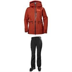 Helly Hansen Kvitegga Shell Jacket + Helly Hansen Switch Cargo 2.0 Pants - Women's
