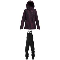 Burton AK 2L GORE-TEX Embark Jacket + Burton AK GORE-TEX® Kimmy Bib Pants - Women's