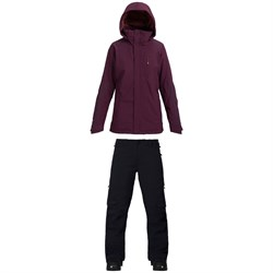 Burton AK 2L GORE-TEX Embark Jacket - Women's ​+ Burton AK 2L GORE-TEX Summit Insulated Pants - Women's