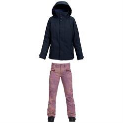 Burton Jet Set Jacket - Women's + Burton Ivy Over-Boot Pants - Women's