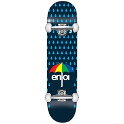 Enjoi Raining Panda Resin Soft Wheel 7.625 Skateboard Complete