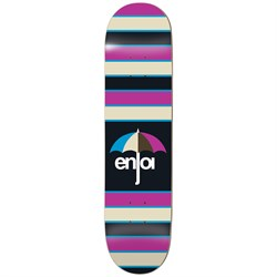 Enjoi Stripes Hybrid 8.0 Skateboard Deck