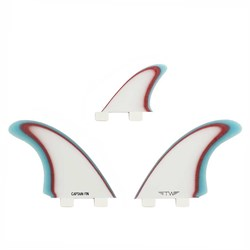 Captain Fin Tyler Warren Twin ESP Twin Tab Fin Set