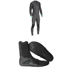 Vissla Seven Seas 4​/3 50​/50 Wetsuit ​+ Vissla 7 Seas 3mm Split Toe Booties