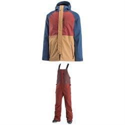 Airblaster Yeti Stretch Jacket + Stretch Krill Bib Pants