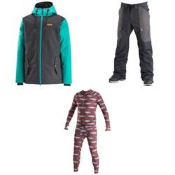 Airblaster Toaster Jacket + Freedom Cargo Pants + Hoodless Ninja Suit