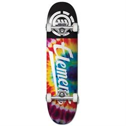 Element Tie Dye Script 7.75 Skateboard Complete