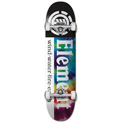Element Tie Dye Section 7.7 Skateboard Complete