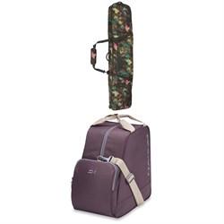 Burton Wheelie Gig Snowboard Bag + Dakine Boot Bag 30L