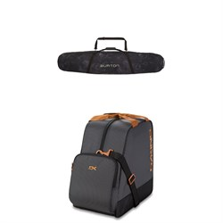 Burton Space Sack Snowboard Bag ​+ Dakine Boot Bag 30L