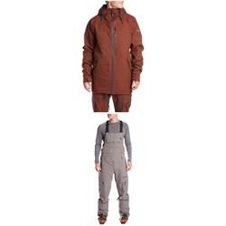 Armada x evo Carson Insulated Jacket + Vision Bibs