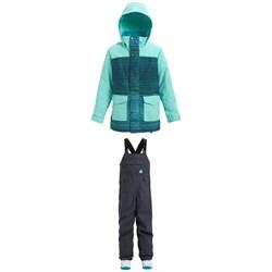 Burton Elstar Parka Jacket - Girls' + Burton Skylar Bibs - Kids'