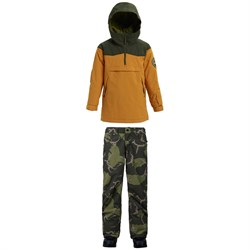 Burton Hightrack Anorak Jacket ​+ Burton Barnstorm Pants - Boys'