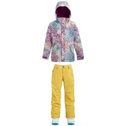 Burton Elodie Jacket - Big Girls' + Burton Sweetart Pants - Girls'