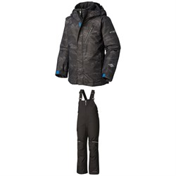 Columbia Whirlibird II Jacket - Boys' ​+ Columbia Adventure Ride Bibs - Kids'