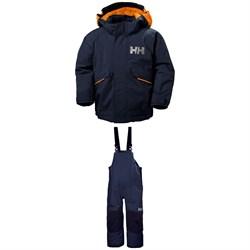 Helly Hansen Snowfall Jacket + Rider 2 Bibs - Little Kids'