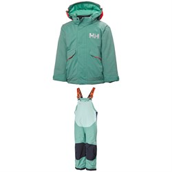 Helly Hansen Snowfall Jacket - Little Girls' ​+ Rider 2 Bibs - Little Kids'