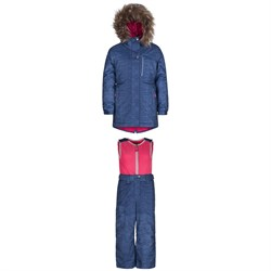 Jupa Stella Jacket ​+ Beatrice Bib Pants - Little Girls'