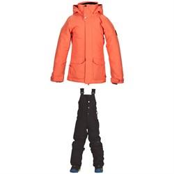 Nikita Hawthorne Jacket + Evergreen Bibs - Girls'