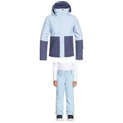 Roxy Jetty Block Jacket + Backyard Pants - Girls'